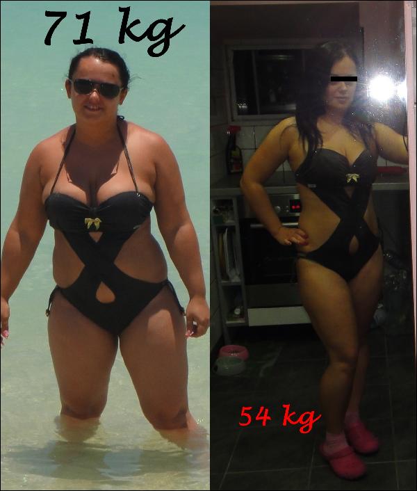 93 kg fogyás)